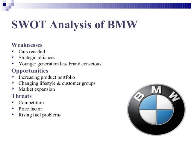 bmw automobiles case study pest analysis Mini cooper is evaluated in terms of its swot analysis, segmentation, targeting, positioning, competition analysis also covers its tagline/slogan and usp along with its sector.
