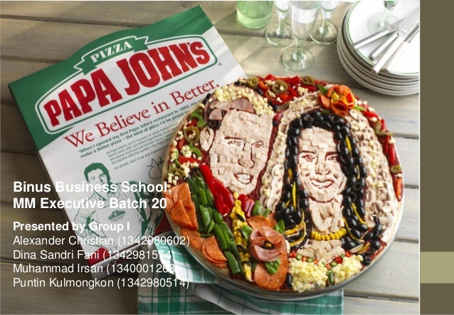 """papa johns study case """"better ingredients better pizza"""" leveraged papa john's unmatched commitment to quality using better ingredients long before it became an industry trend."""