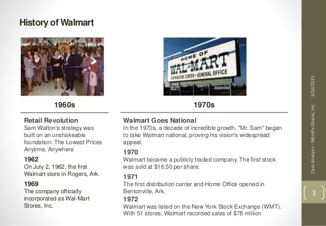 Harvard Business Review Walmart Case Study