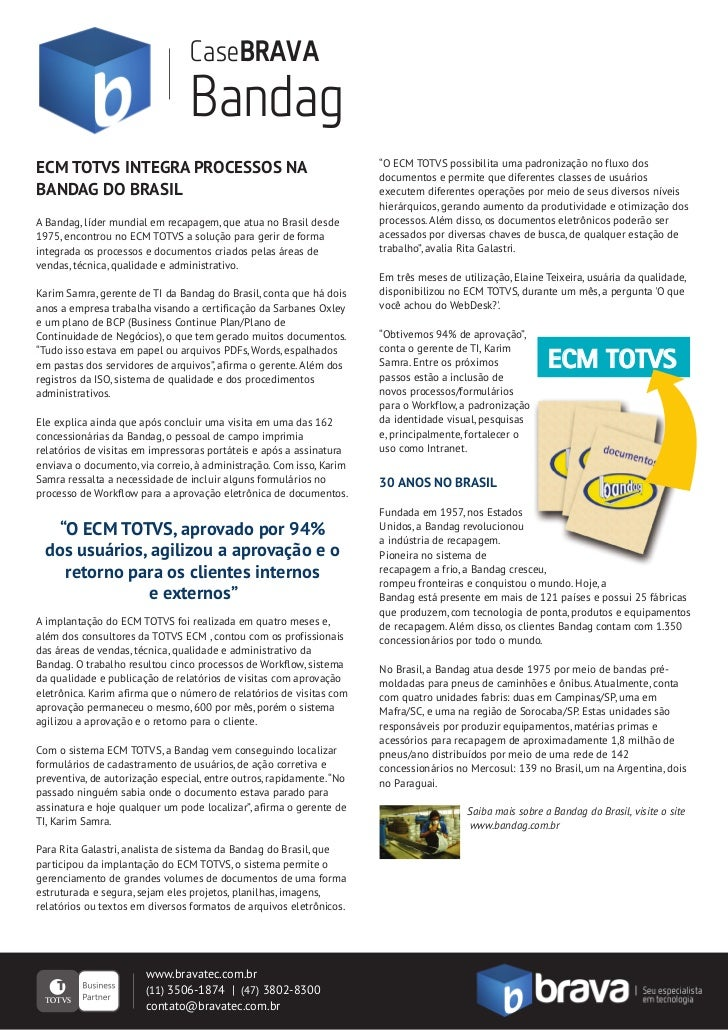 bandag case Bandag automotive comprehensive case - free download as pdf file (pdf),  text file (txt) or read online for free.