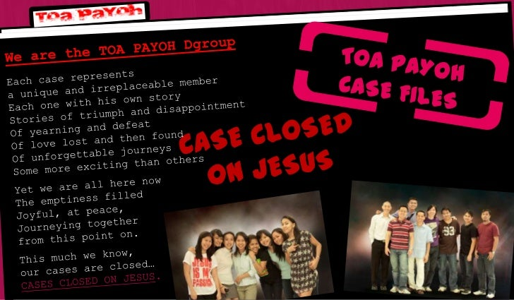 Case closed on jesus final