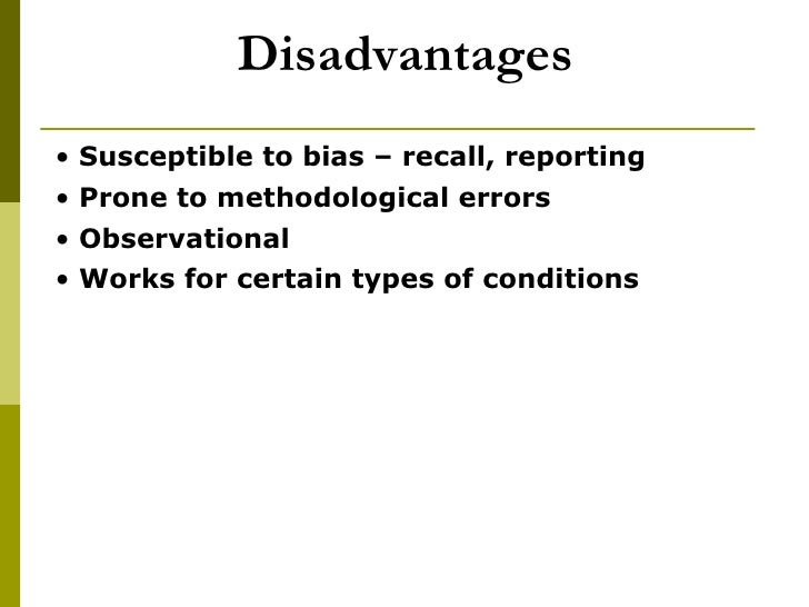 case control studies bias Selection bias occurs in a case control study when the method by which cases and controls are selected is associated with exposure status to avoid selection bias, the.