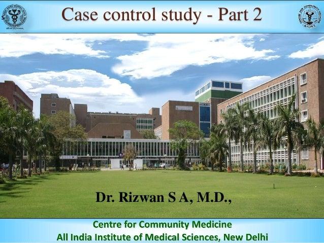 Case control study - Part 2
