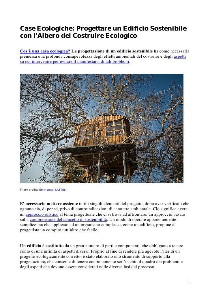 case ecologiche progettare un edificio sostenibile con l