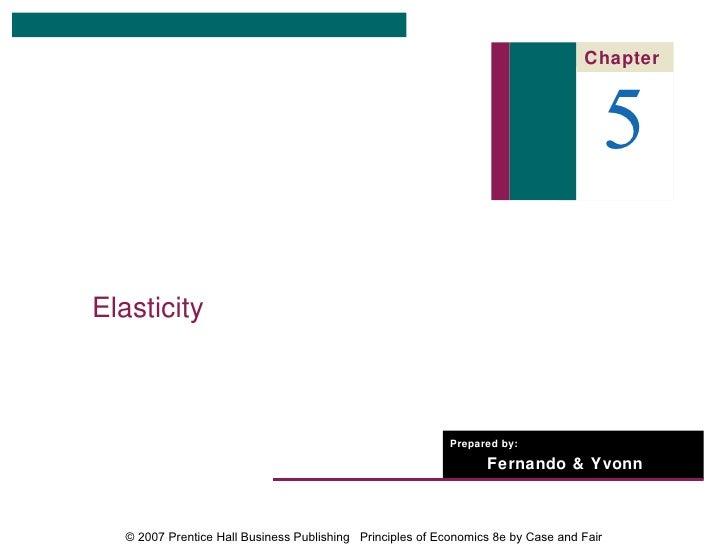 Chapter                                                                                          5Elasticity              ...