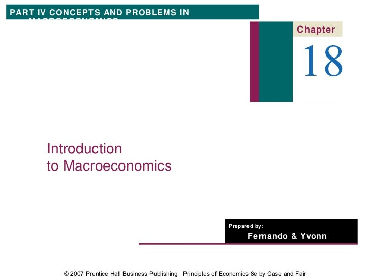 PART IV CONCEPTS AND PROBLEMS IN   MACROECONOMICS                                                                         ...