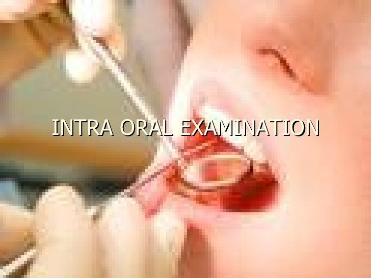 facial examination Oral soft record tissue