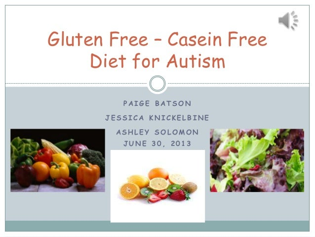 Casein-Free Diet for Autistic Spectrum Disorder