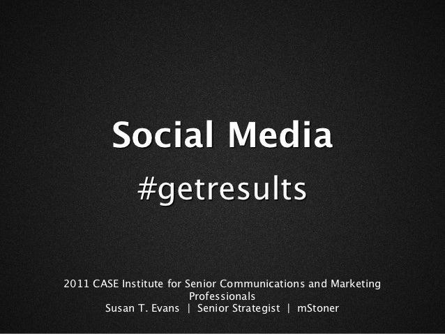 Social Media Campaigns #getresults