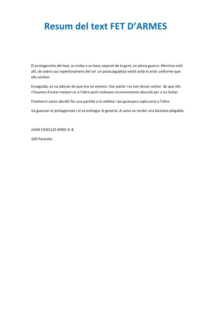 Caselles resum armes (1)