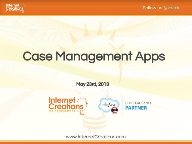 Salesforce Case Management Apps