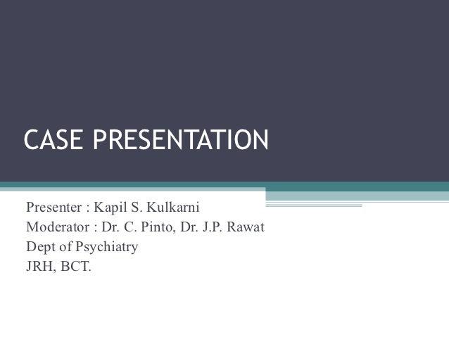 Patient case study powerpoint