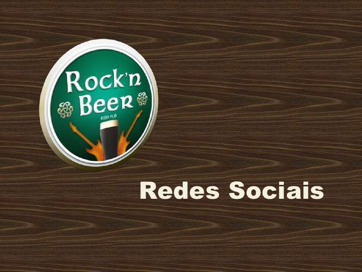 Case rock'n beer redes sociais