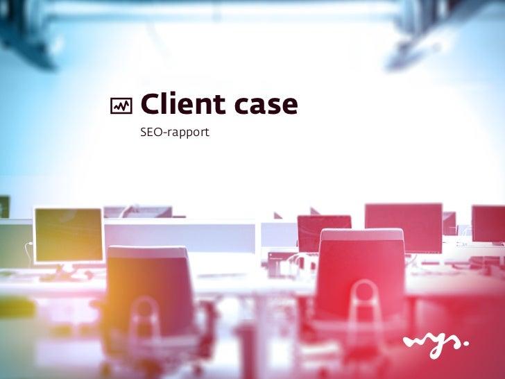 Wijze Case: SEO (4)