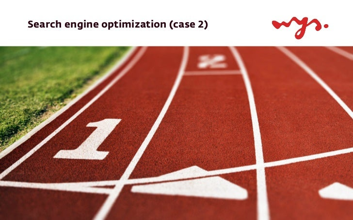 Search engine optimization (case 2)