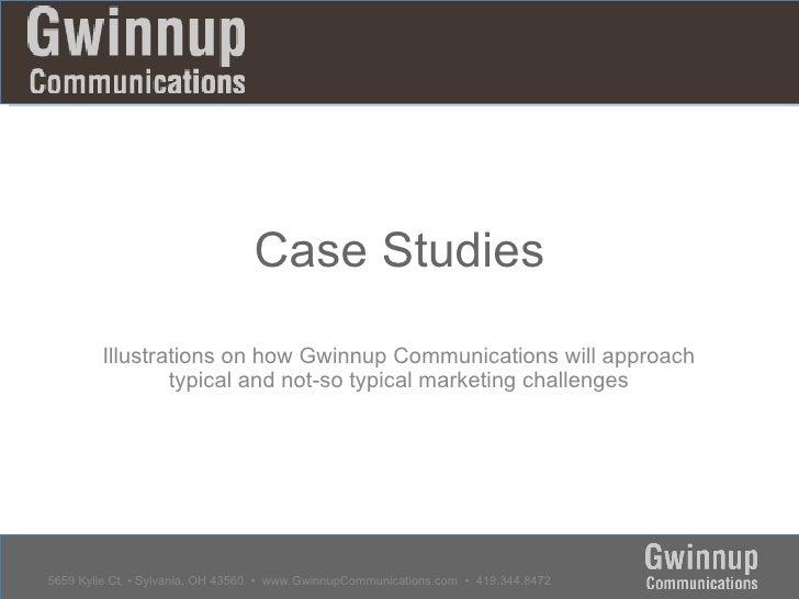 Case Studies 001