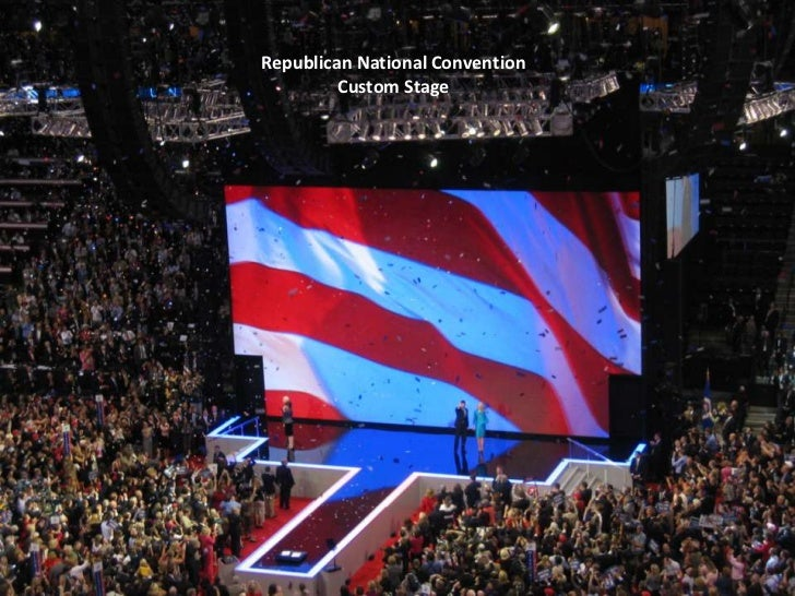 Republican National Convention<br />Custom Stage<br />