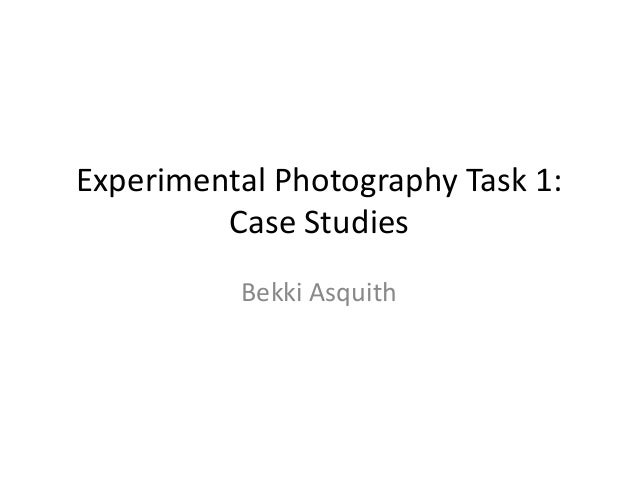 Photographer research