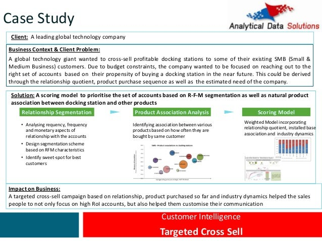 Case studies business analytics
