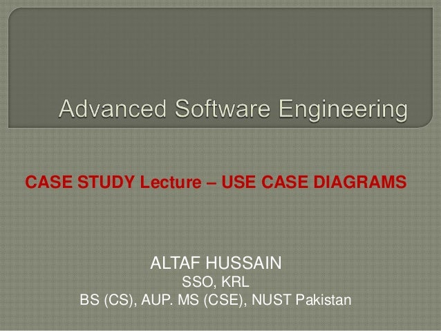 Case studies  use cases ASE