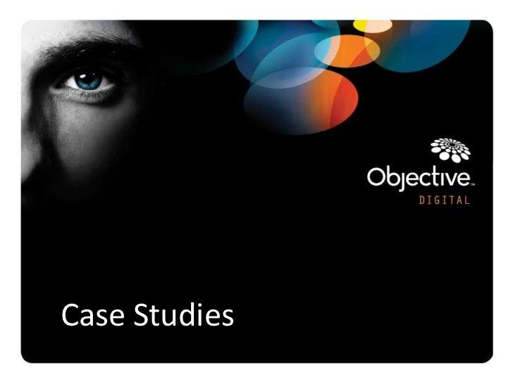 Case Studies               Objective Digital Pty Ltd