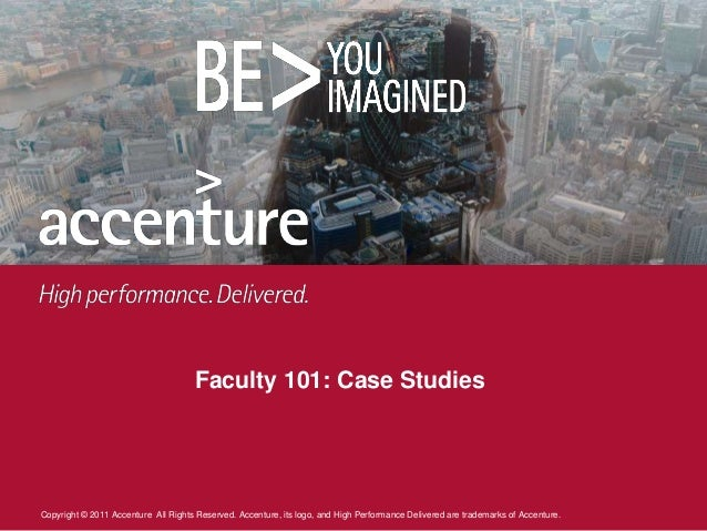 accenture practice case study interview Accenture interview questions & answers 4571421 / 5 based on 9 reviews mini case study overall, it lasted for 50min and it was pretty simple the mini case.