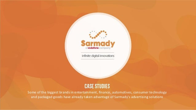 Case studies at Sarmady