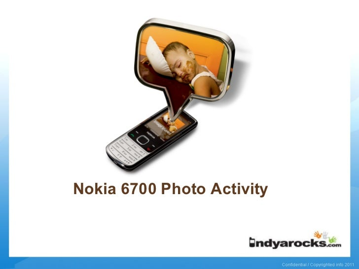 Nokia 6700 Photo Activity