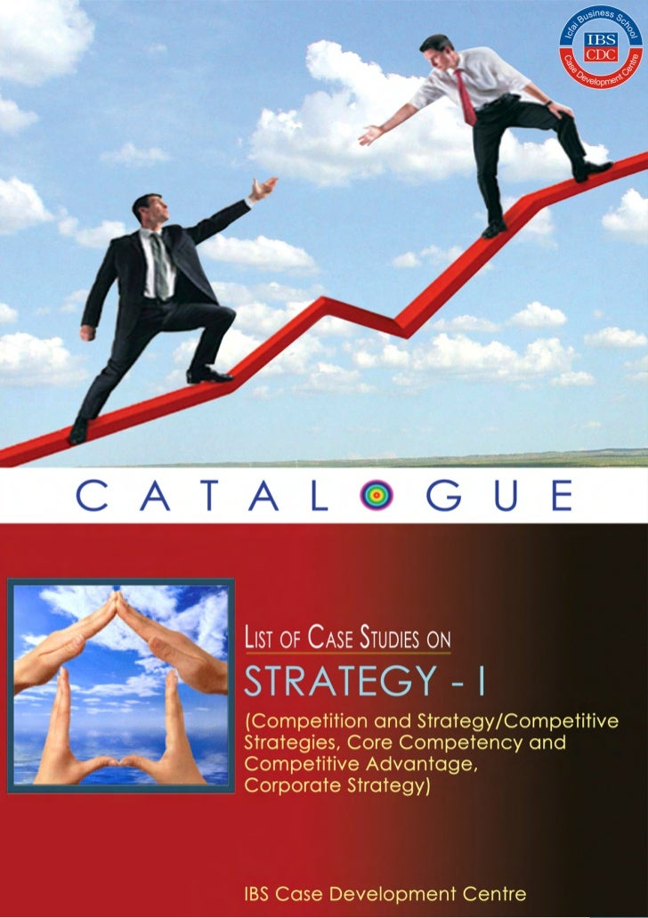 Case studies on_strategy(catalogue_i)