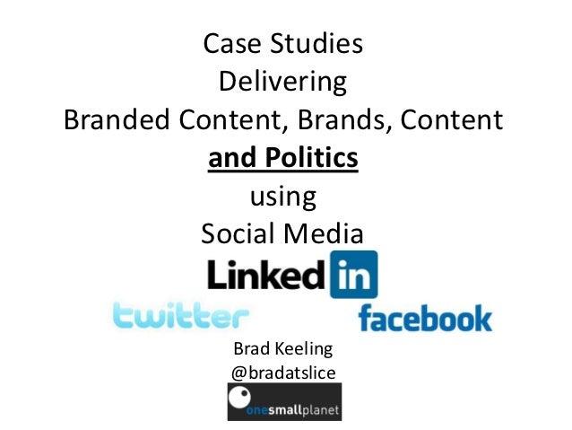 Case Studies Politics