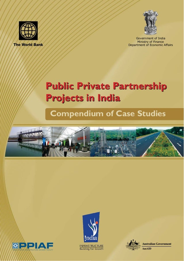 Government of India                       Ministry of Finance                 Department of Economic AffairsPublic Private...
