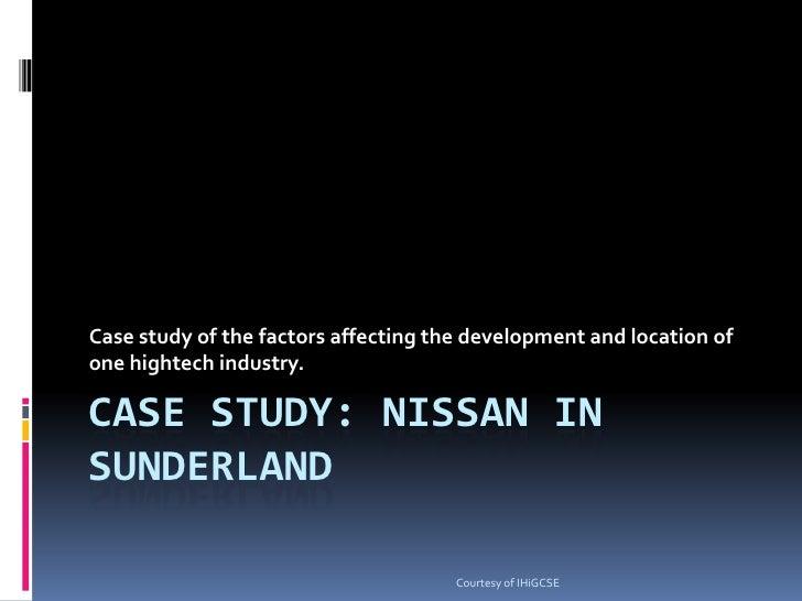 Nissan on Tyneside