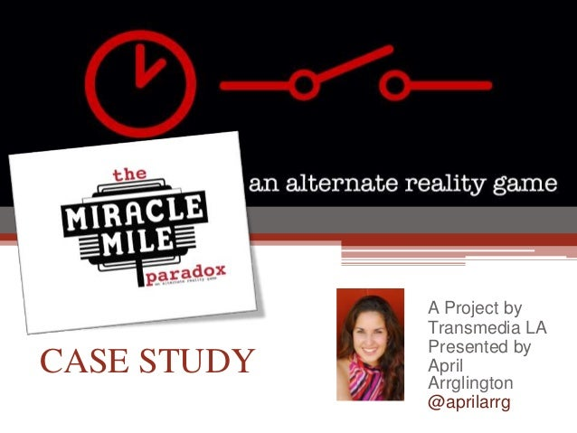 The Miracle Mile Paradox ARG Case study