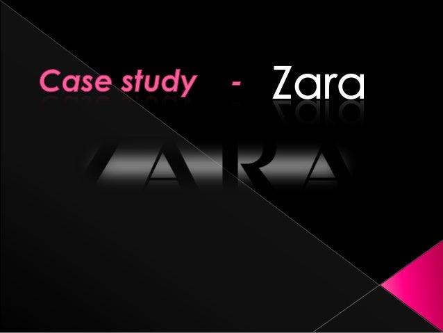 Case study Zara