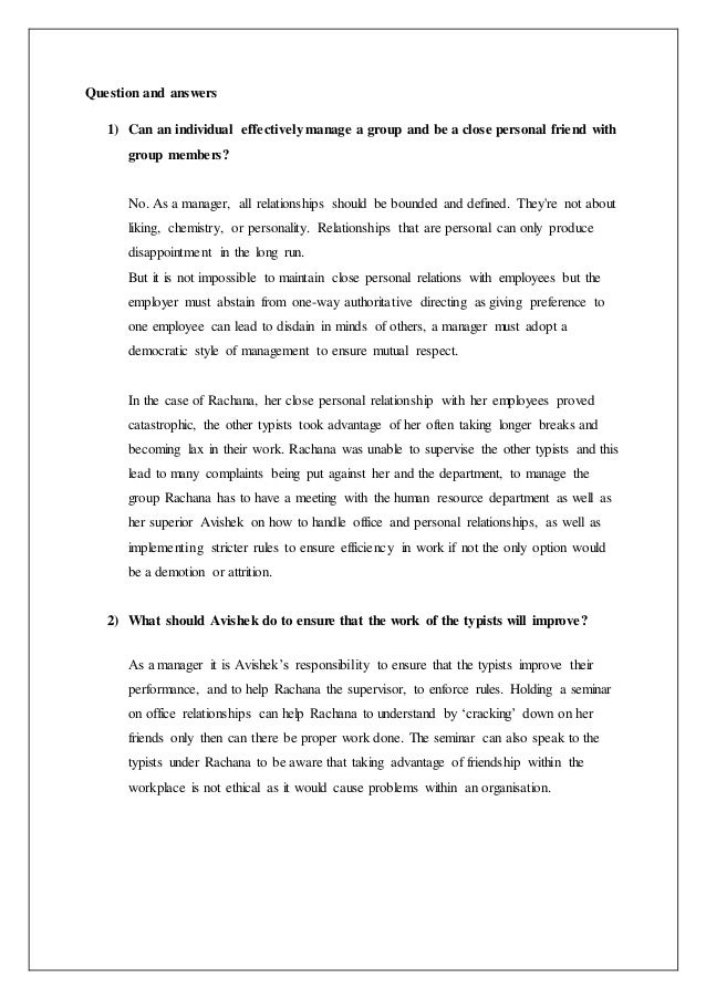 case study 1 supervisor interview 2 college of early childhood educators case study 1 sarah's confusing behaviour  through case study discussion case  supervisor position shortly following her.