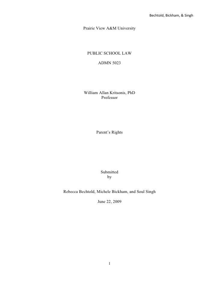 Case Study Barrow V[1]. Greenville Isd
