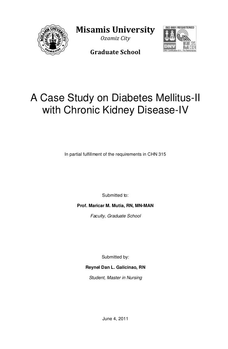 Essay on diabetes