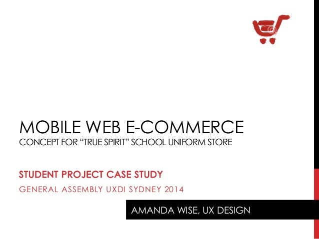 E-Commerce UX design concept case study