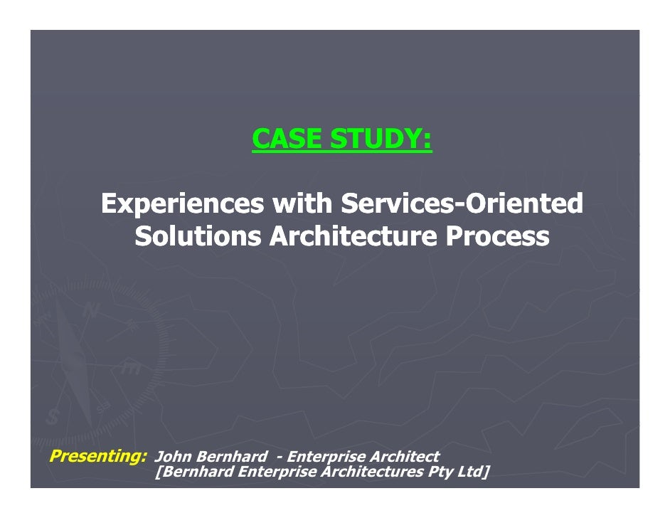 Case study  experiences with services-oriented sap