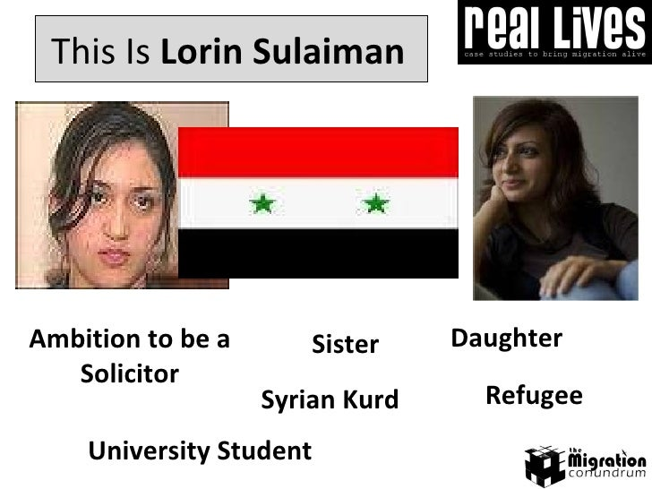 Daughter This Is  Lorin Sulaiman Ambition to be a Solicitor University Student  Syrian Kurd Sister Refugee