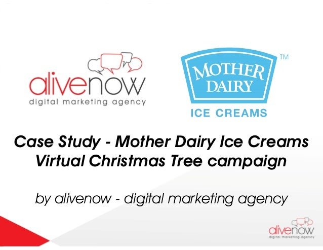 Case Study - Mother Dairy Ice Creams Virtual Christmas Tree campaign by alivenow - digital marketing agency