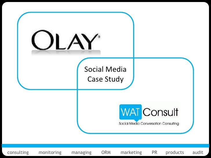 Social Media                                Case Studyconsulting   monitoring   managing   ORM   marketing   PR   products...