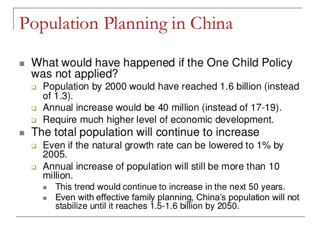 chinas population control cast study Discover the details about china's one-child policy, designed to limit population growth in the world' s including population control officials.