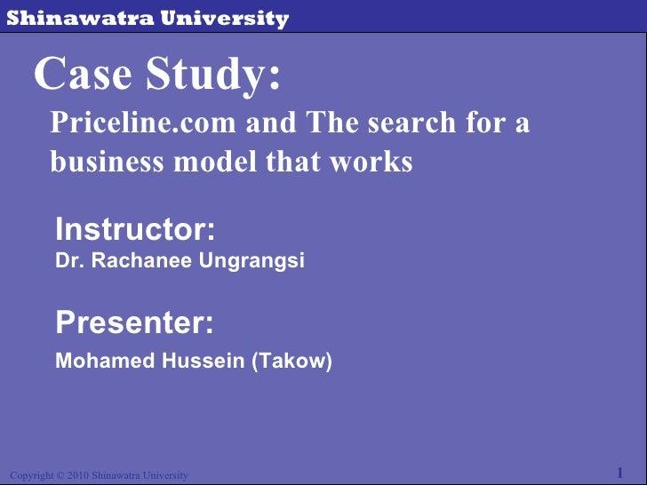 Case study  priceline.com (from takow)
