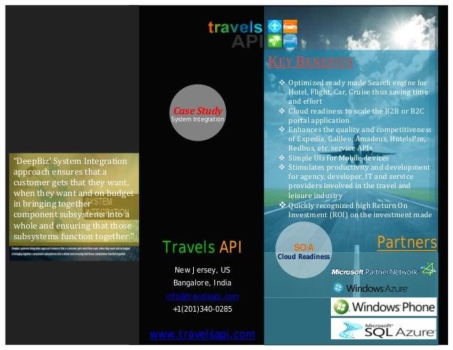 Travels API Case Study