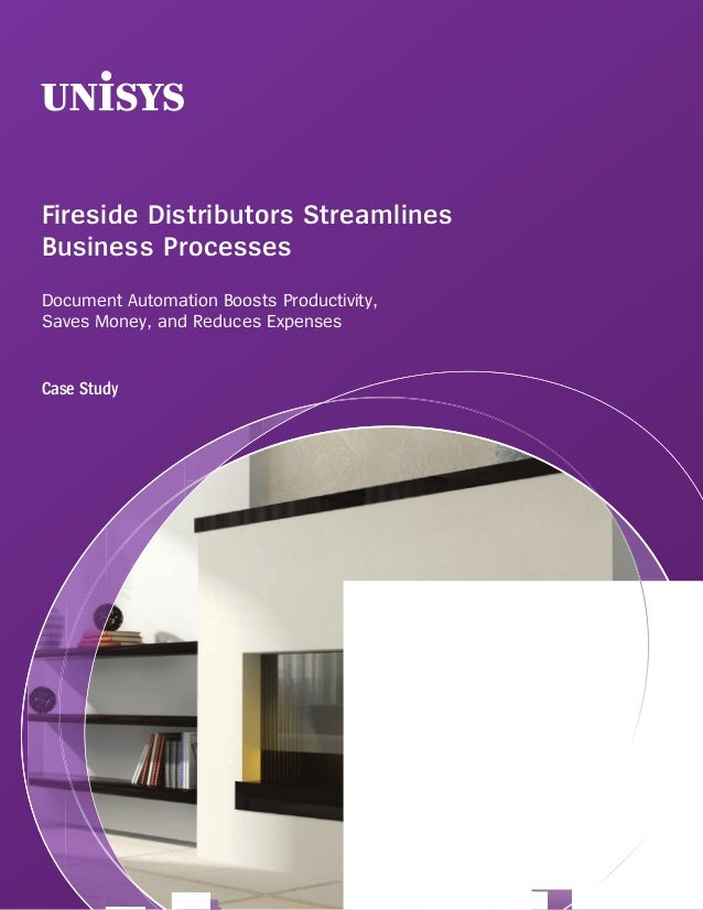 Fireside Distributors StreamlinesBusiness ProcessesDocument Automation Boosts Productivity,Saves Money, and Reduces Expens...