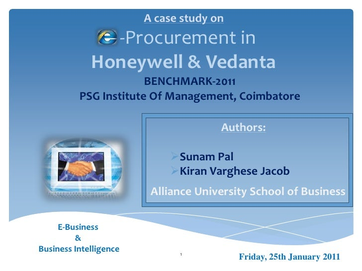 Case Study on Business Intelliegnce