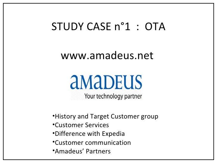 Case Study 1   Amadeus