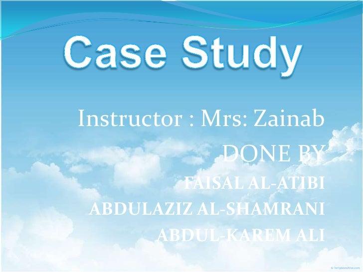 Case study C A D