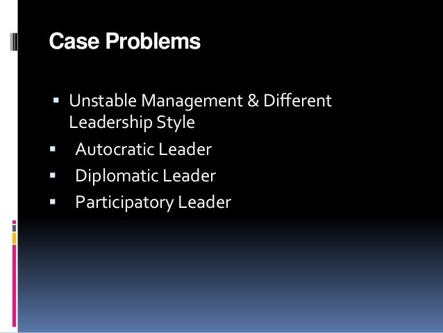 Write my leadership case study